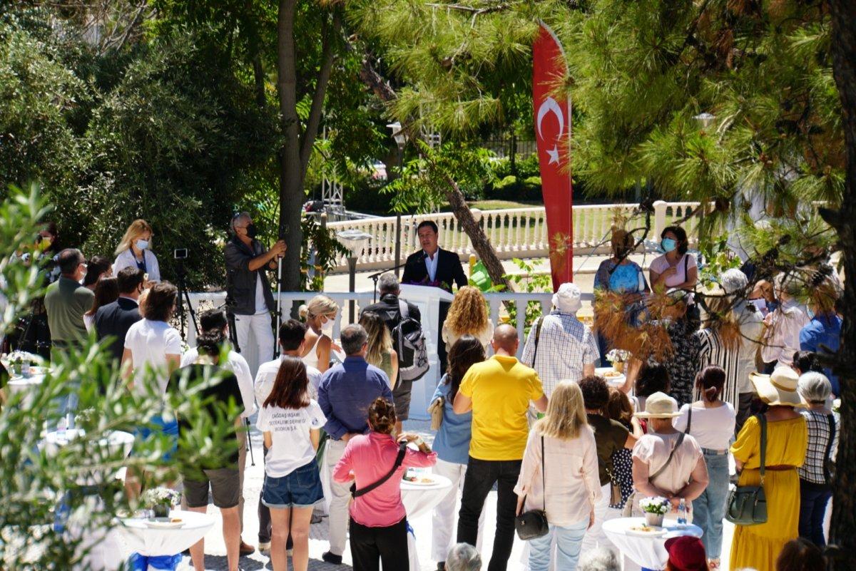CHP li Bodrum Belediyesi nden  Nazım Hikmet  heykeli #2