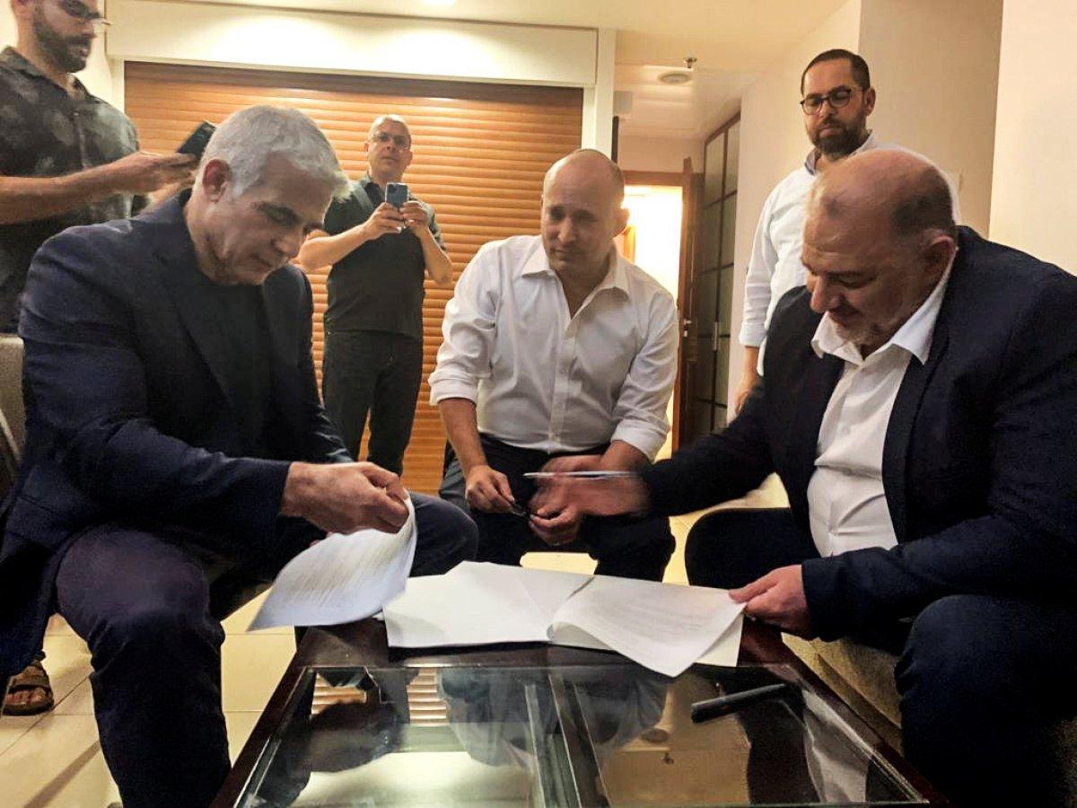 Binyamin Netanyahu dan koalisyon hükümetine karşı adım #4