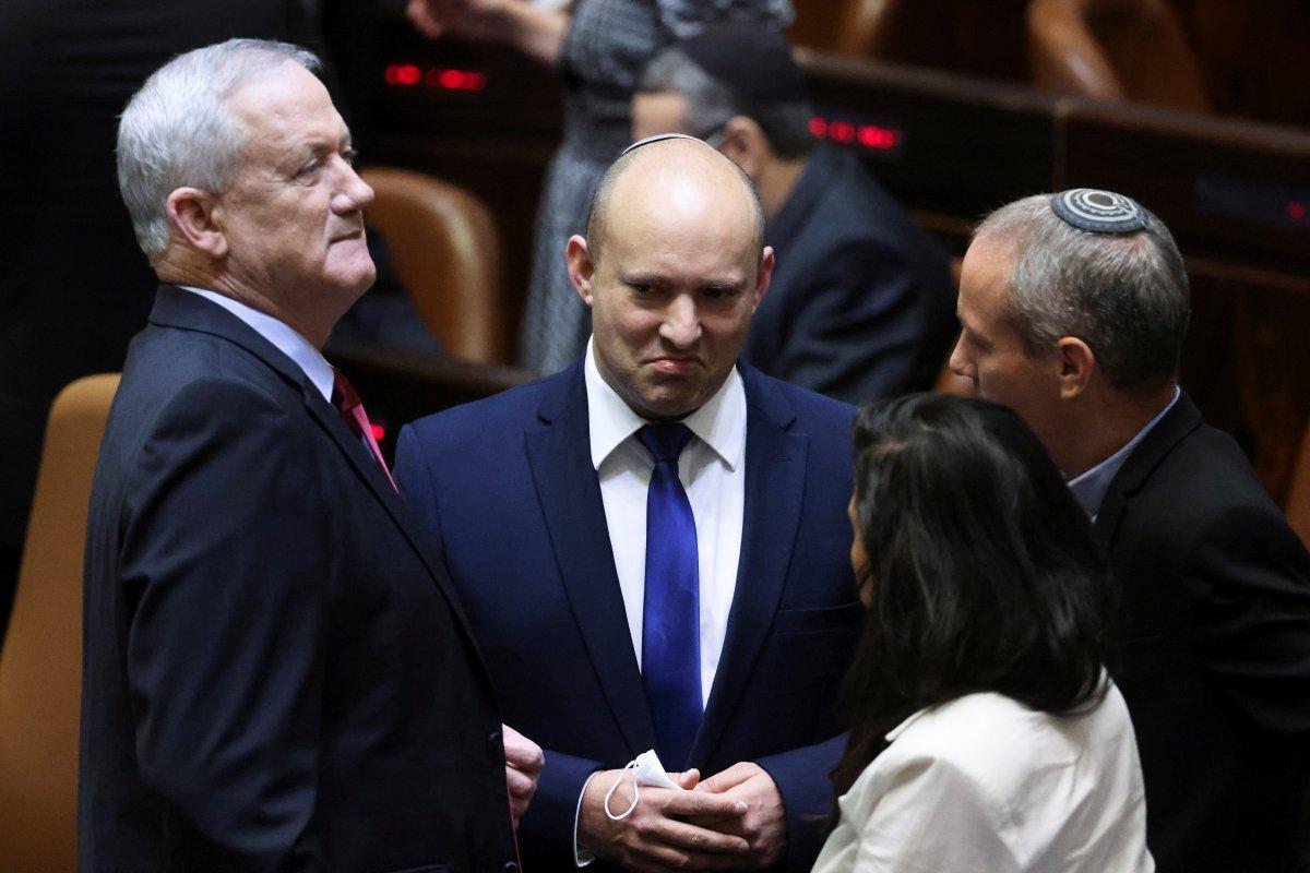 Binyamin Netanyahu dan koalisyon hükümetine karşı adım #6
