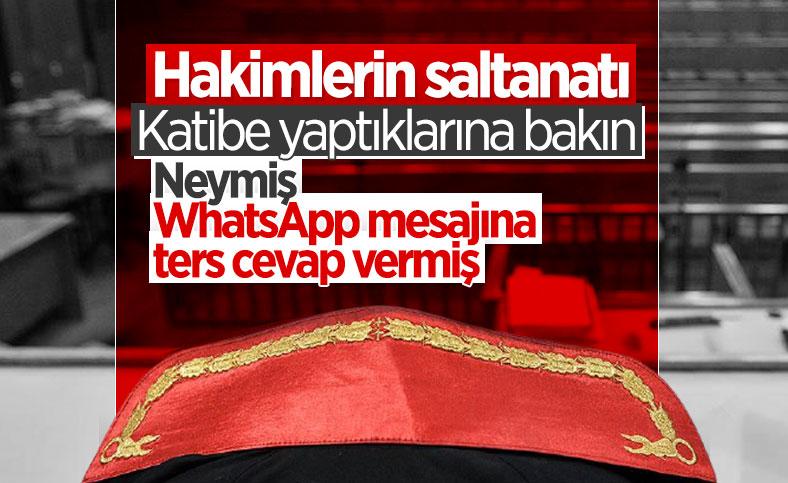 İzmir'de zabıt katibi, kendisini uyaran hakime verdiği yanıt yüzünden sürüldü