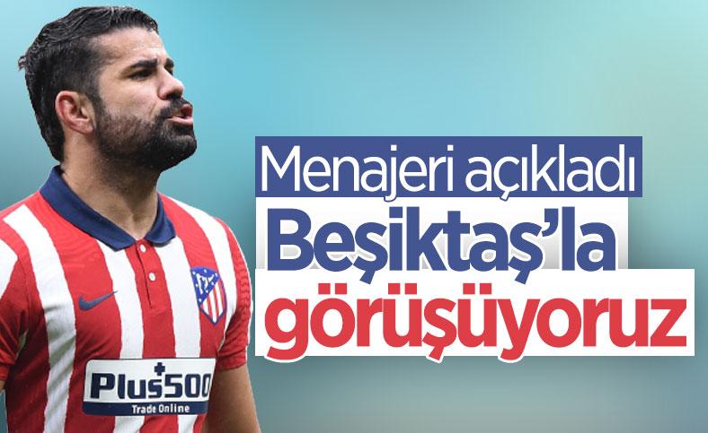Costa'nın menajeri: Beşiktaş'la görüşüyoruz