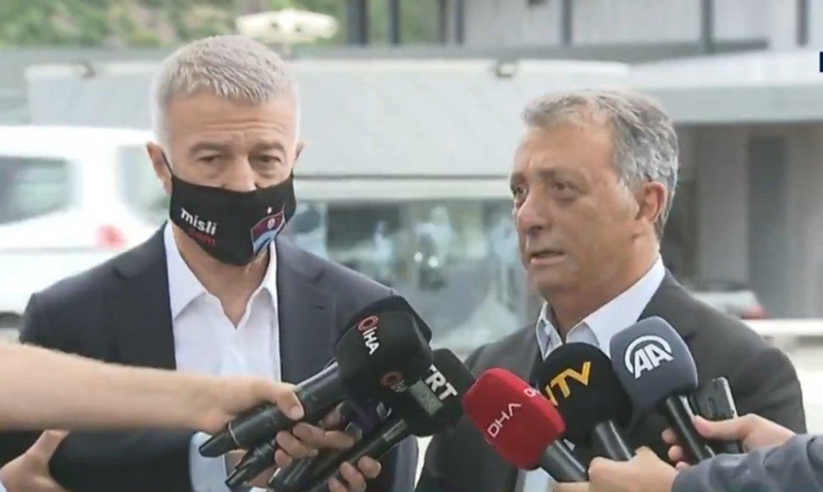 Ahmet Nur Çebi: Pazartesi TFF ile toplantı yapacağız #1