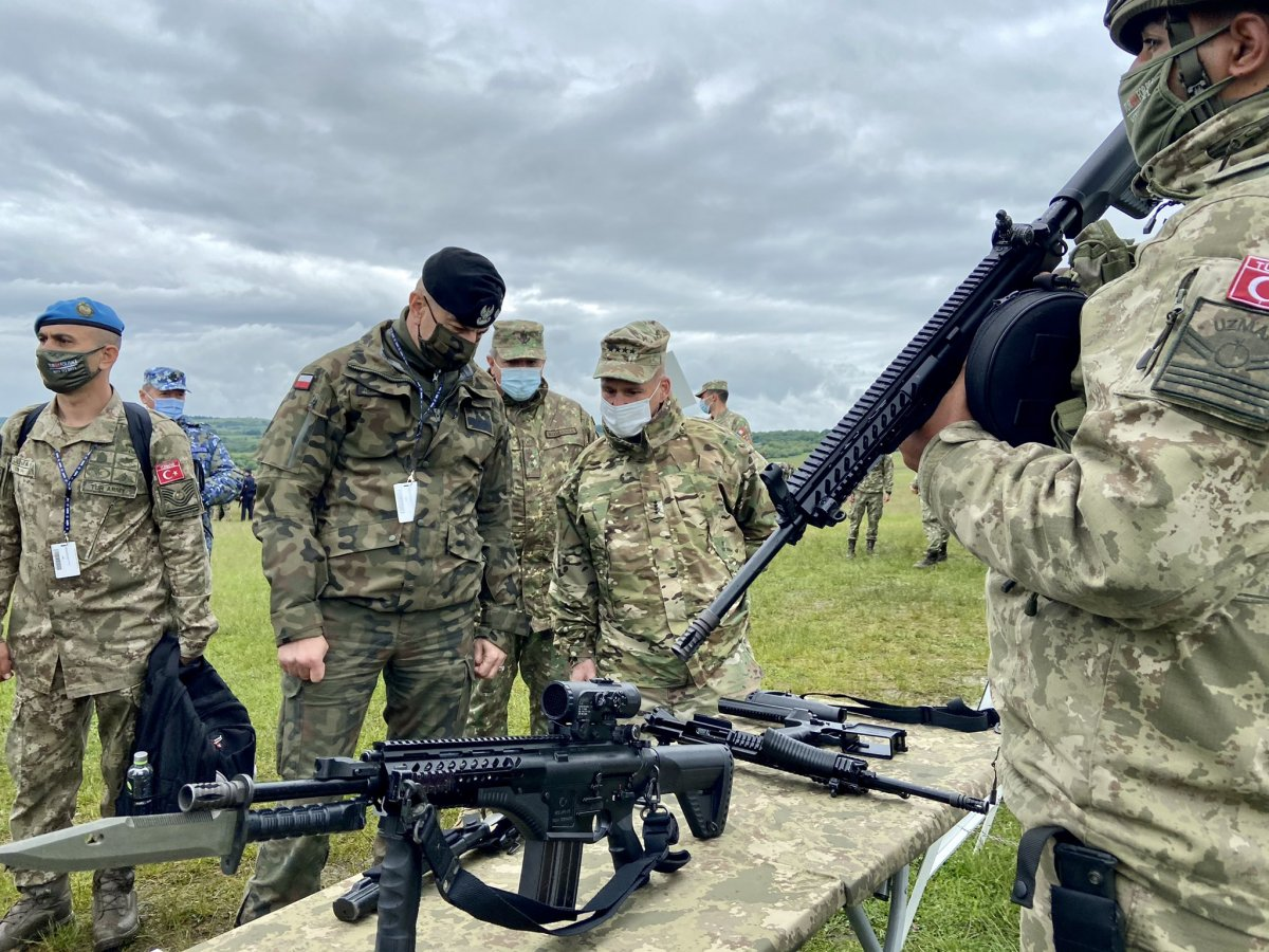 NATO Steadfast Defender 2021 tatbikatında Türkiye nin ekipmanlarına yoğun ilgi #1