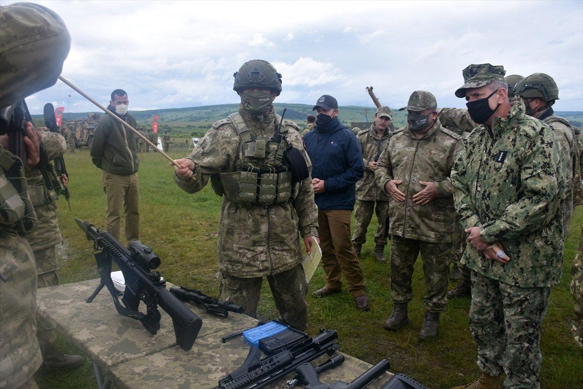 NATO Steadfast Defender 2021 tatbikatında Türkiye nin ekipmanlarına yoğun ilgi #5