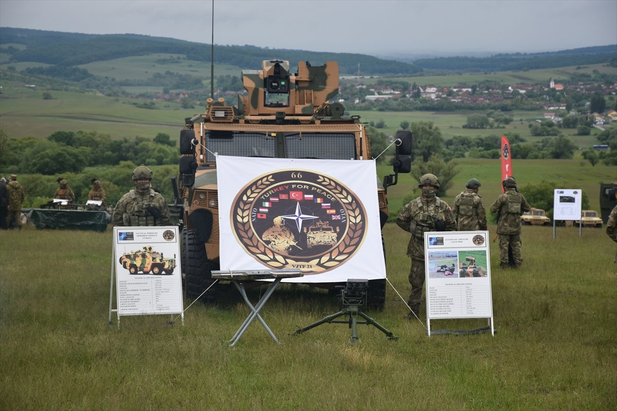 NATO Steadfast Defender 2021 tatbikatında Türkiye nin ekipmanlarına yoğun ilgi #6