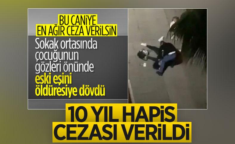 Samsun'da eski eşini sokak ortasında döven İbrahim Zarap'ın cezası belli oldu