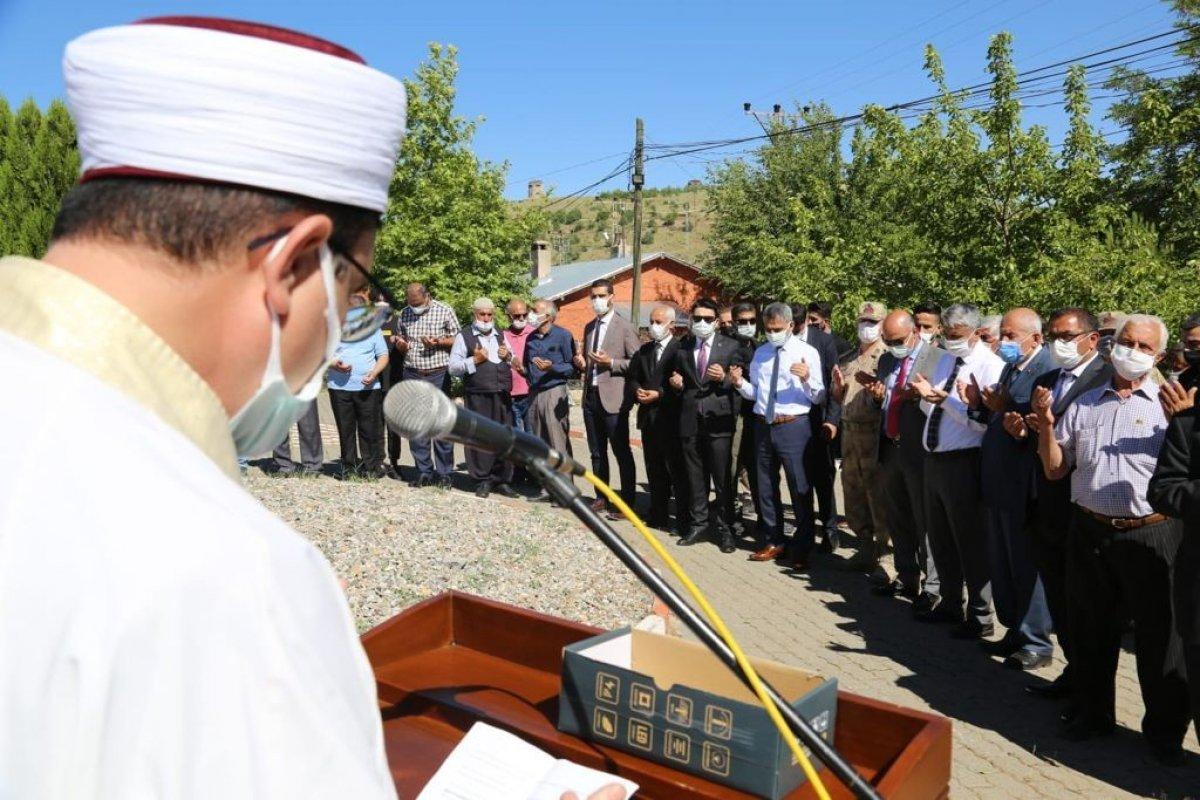 Tunceli'de sivil şehitler için anma töreni #2