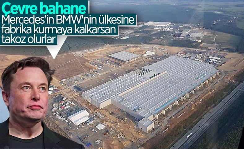 Tesla'nın Berlin'deki fabrikasına çevrecilerden büyük tepki