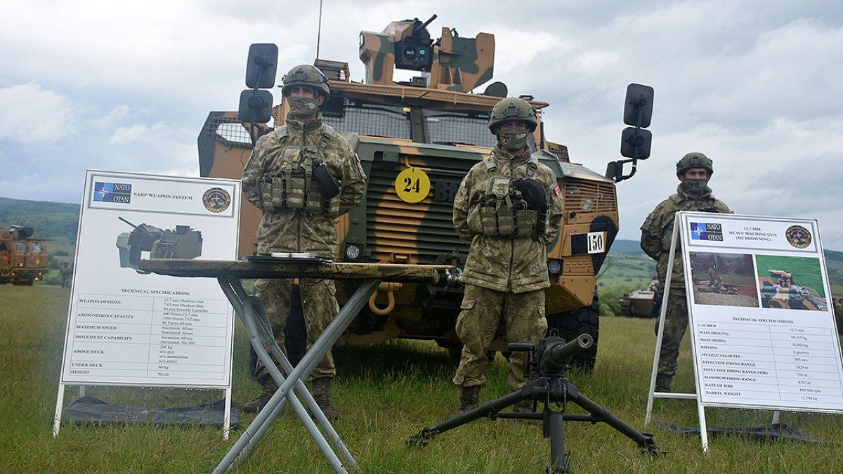 NATO Steadfast Defender 2021 tatbikatında Türkiye nin ekipmanlarına yoğun ilgi #2