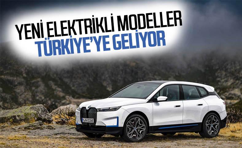 BMW, yeni elektrikli araçlarını Türkiye'ye getiriyor