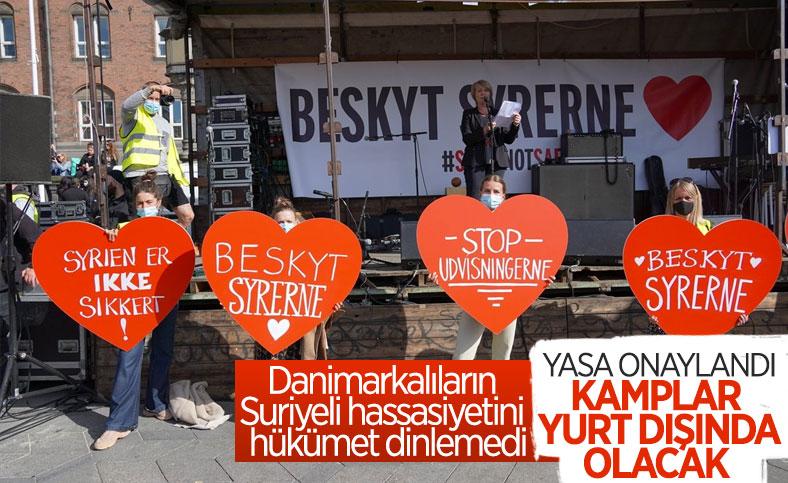 Danimarka'dan, sığınmacı kamplarını yurt dışına taşıma kararı