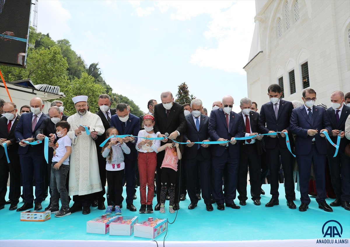 Uzun Mehmet Camii, ibadete açıldı  #15