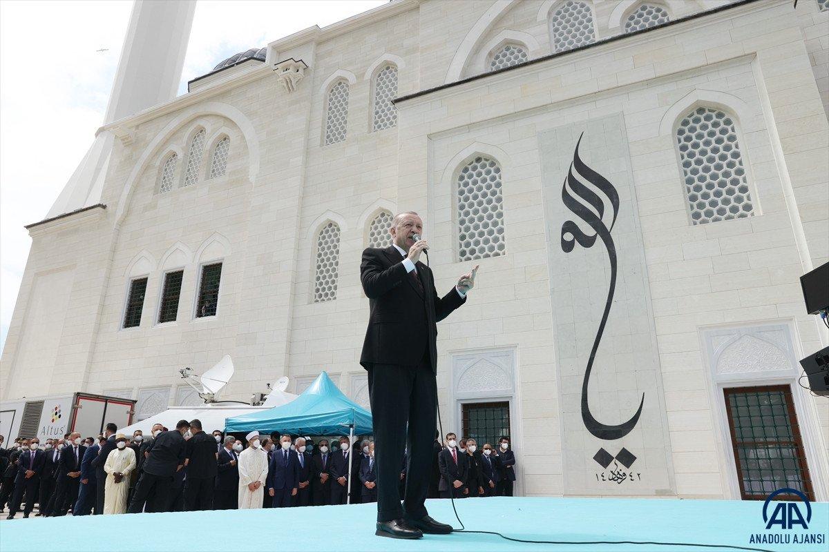 Uzun Mehmet Camii, ibadete açıldı  #4