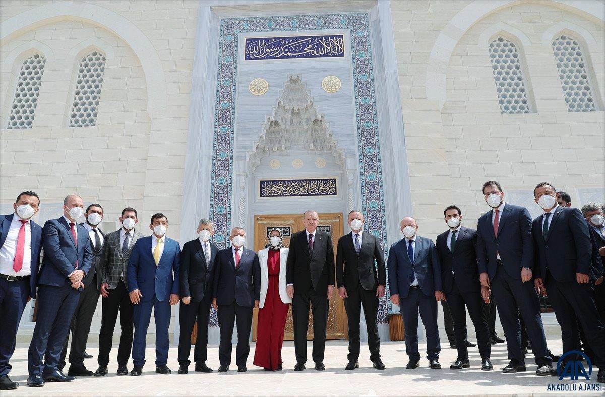 Uzun Mehmet Camii, ibadete açıldı  #20
