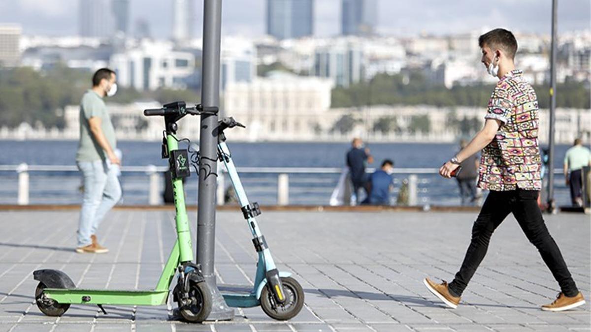 İstanbul da elektrikli scooter kullanımına düzenleme getirildi #1