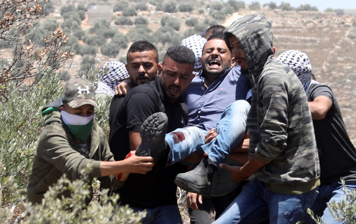 İsrail den Nablus taki protestolara müdahale #3
