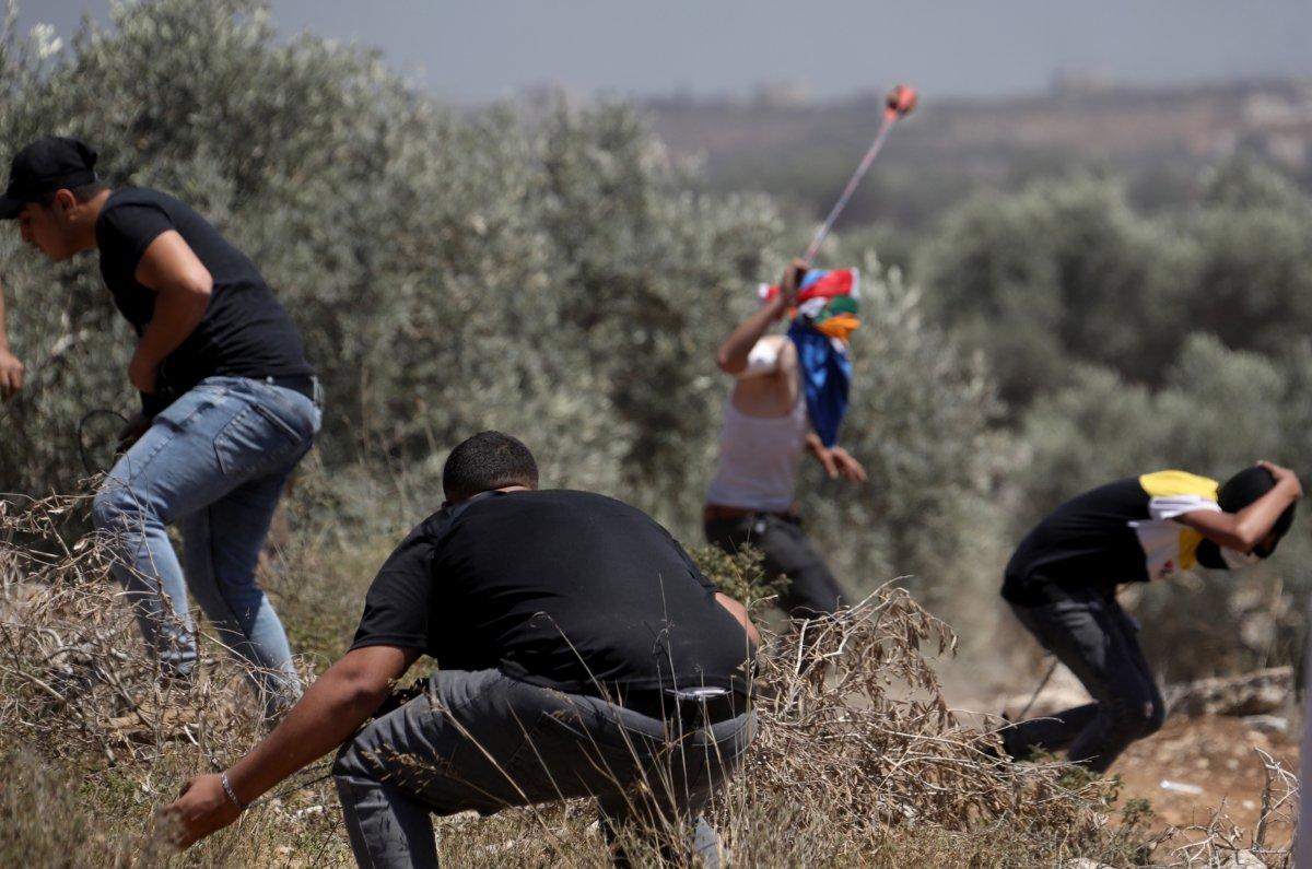 İsrail den Nablus taki protestolara müdahale #5