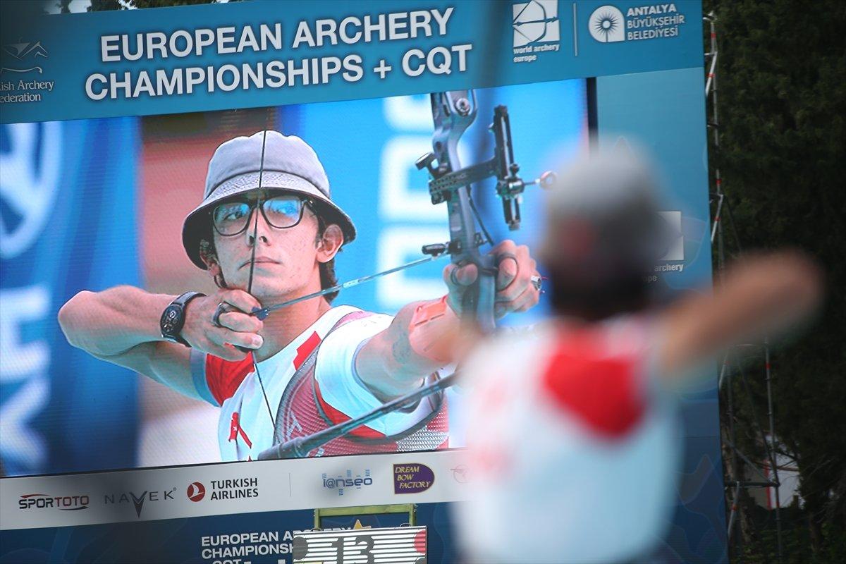 Milli okçu Mete Gazoz, Avrupa şampiyonu oldu #2