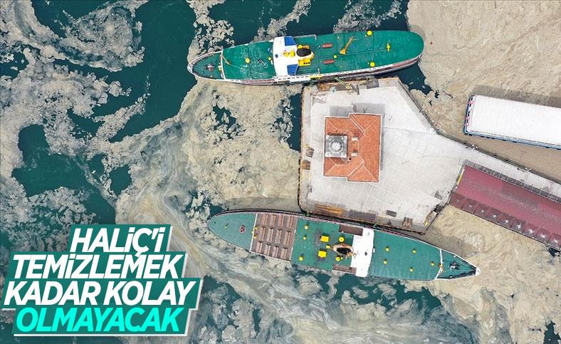 Çevre mühendislerinden müsilaj uyarısı: Haliç'i temizledik ama Marmara'yı temizleyemezsiniz