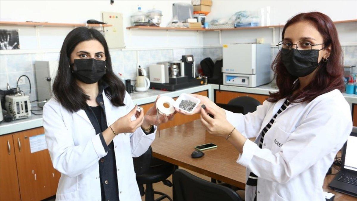KTÜ de araştırmacılar, süper mıknatıs üretiminde sona yaklaştı #1