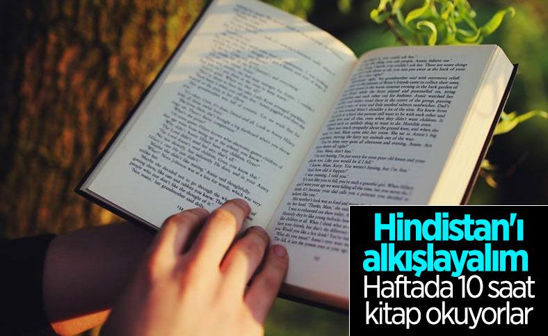 Dünyada en çok Hindistan kitap okuyor
