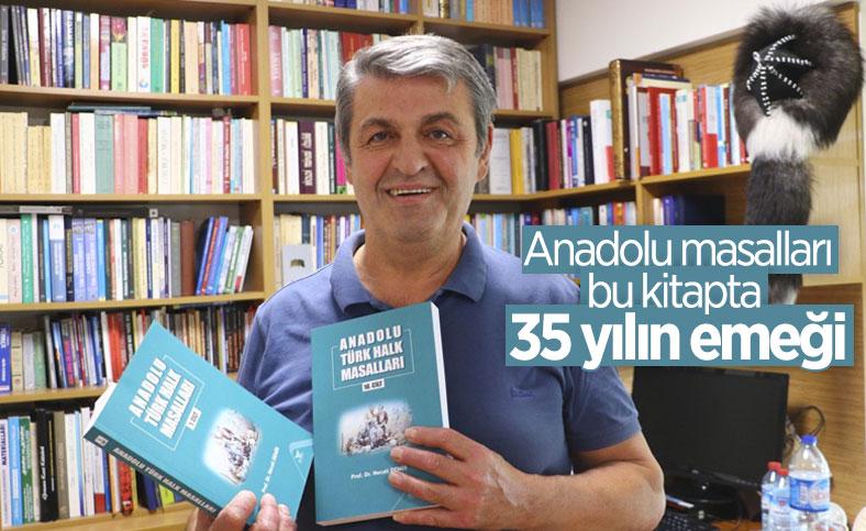 35 yılda 81 ili köy köy gezerek, Anadolu masallarını kitaplaştırdı