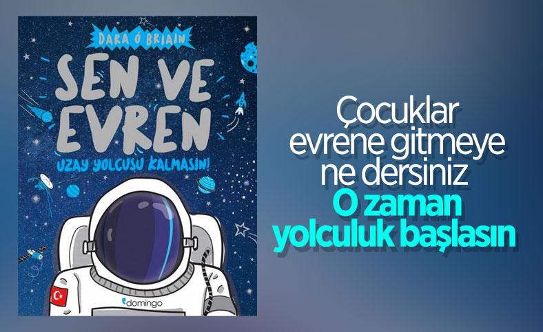 Dara Ó Briain'den çocuklar için kitap: Sen ve Evren