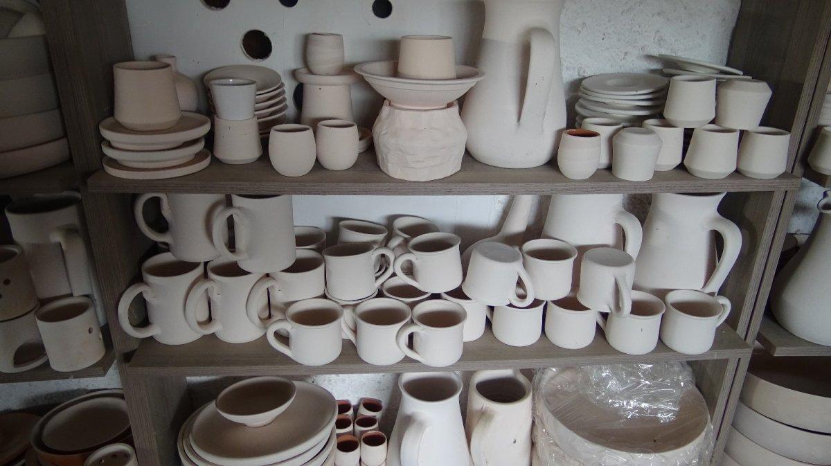 İznik te ürettiği el işi seramikleri Avrupa'ya ihraç ediyor #5
