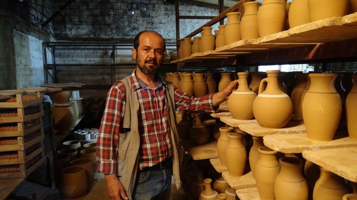İznik te ürettiği el işi seramikleri Avrupa'ya ihraç ediyor #1
