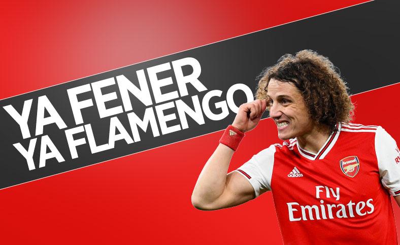 David Luiz'in tercihi: Ya Fenerbahçe ya Flamengo