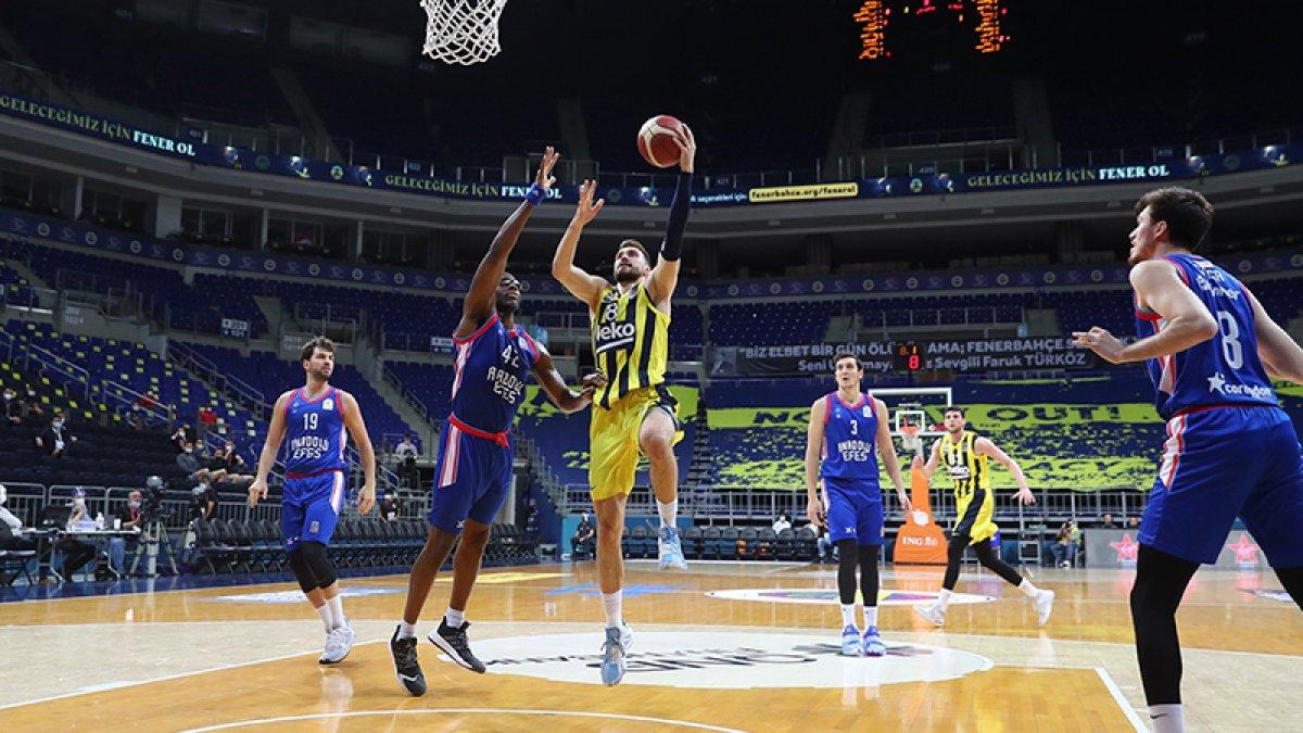 Anadolu Efes-Fenerbahçe serisinde ikinci maç #3