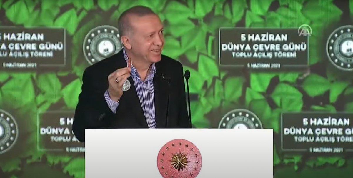 Cumhurbaşkanı Erdoğan'ın 'doğal makas'ı #1