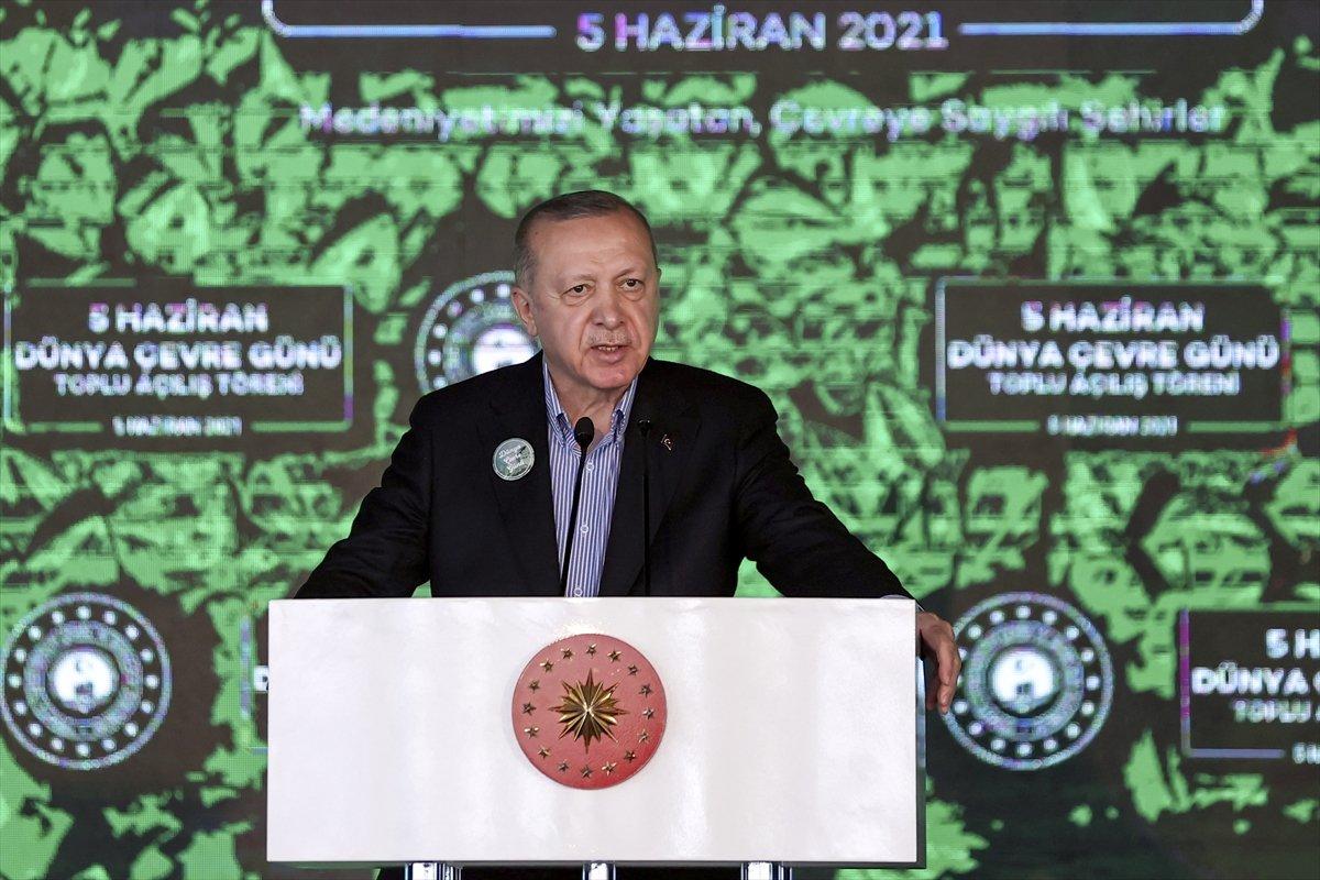 Cumhurbaşkanı Erdoğan, 10 millet bahçesinin açılışını yaptı #1