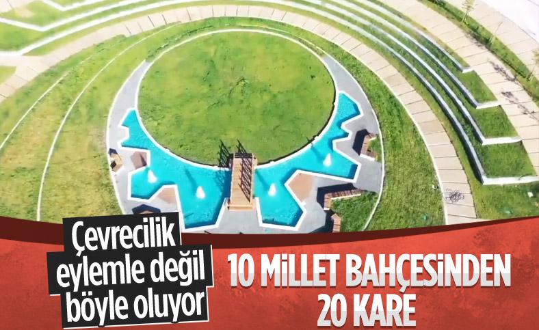 7 ilde 10 yeni millet bahçesi açıldı