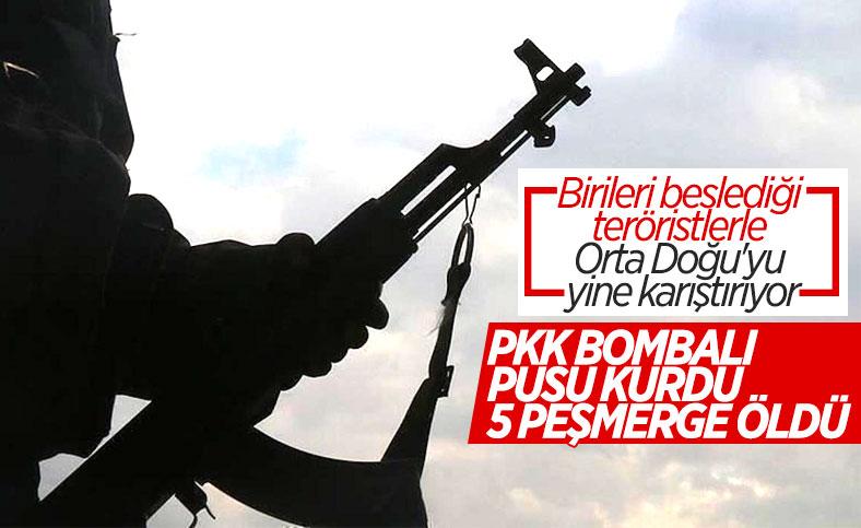 Dohuk'ta terör örgütü PKK'nın kurduğu tuzakta 5 Peşmerge öldü
