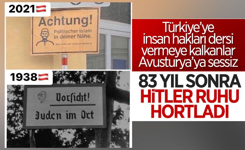 Avusturya'da Müslümanlara karşı ırkçı tabelalar