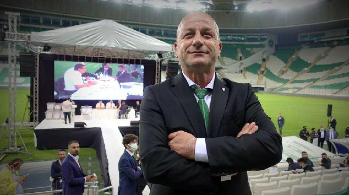 Bursaspor un yeni başkanı Hayrettin Gülgüler #1