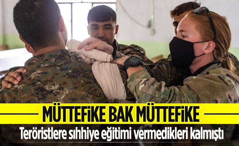 ABD, YPG/PKK'ya sıhhiyeci eğitimi verdi