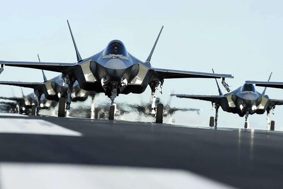 ABD, F-35 lerden vazgeçti #2