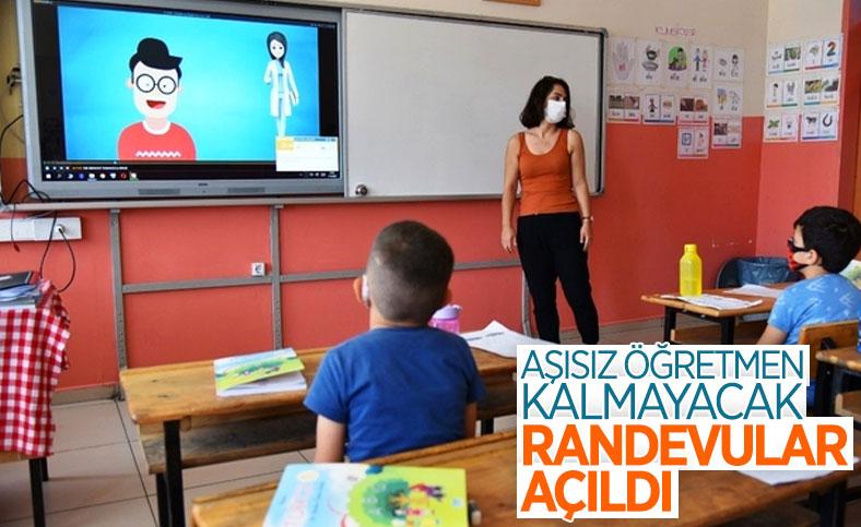 Ziya Selçuk: Tüm öğretmenlerimizin aşı randevuları tanımlandı