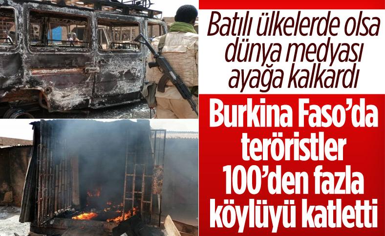 Burkina Faso'da terör saldırısı: 100 sivil öldü