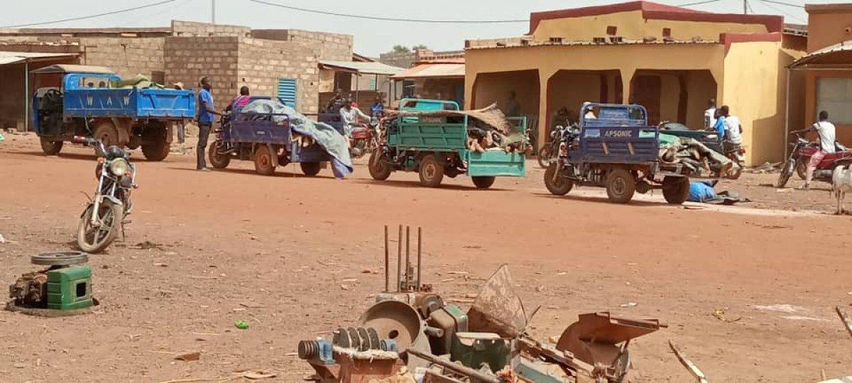 Burkina Faso da terör saldırısı: 100 sivil öldü #11