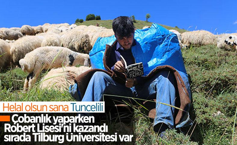 Tunceli'den Robert Koleji'ne giden çoban, Tilburg Üniversitesi'ni hedefliyor