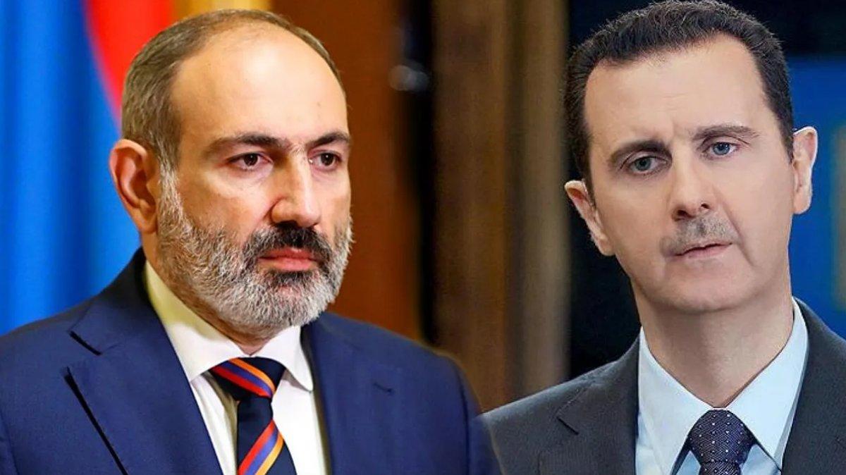 Nikol Paşinyan, Beşar Esad ı tebrik etti #1