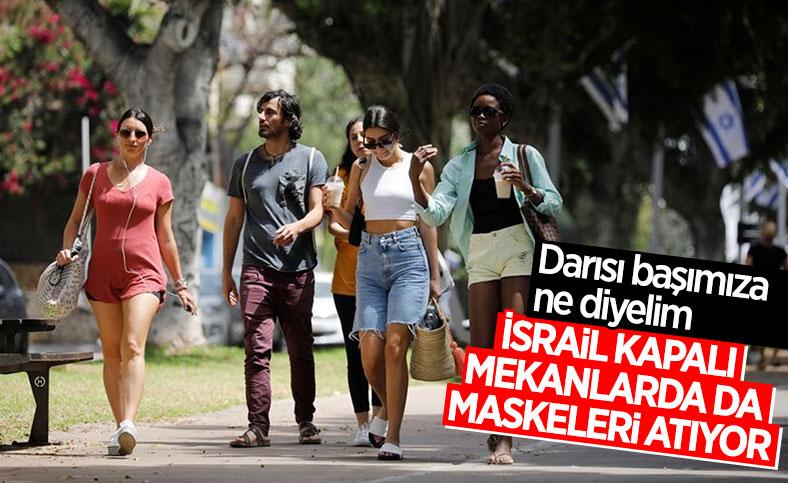 İsrail, kapalı alanlarda maske zorunluluğunu kaldırıyor