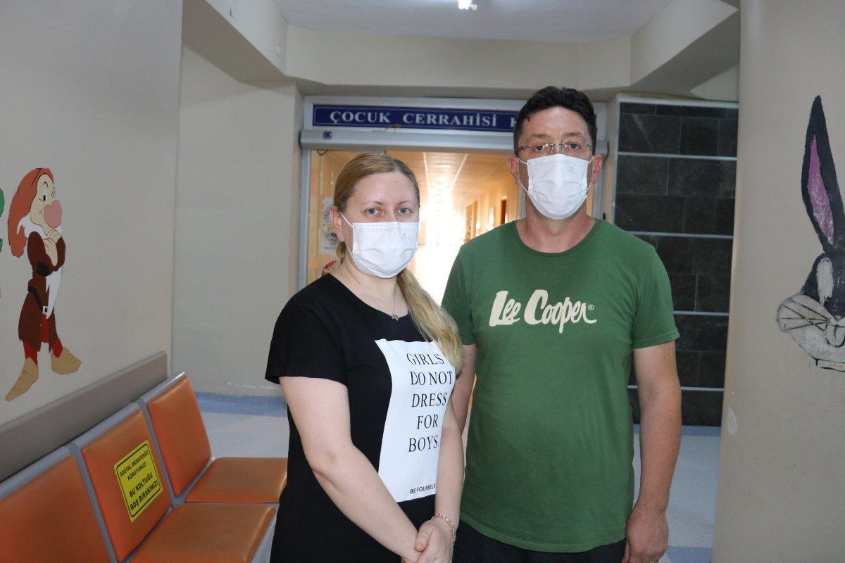 Edirne de, hastane odasında LGS ye girdi #2