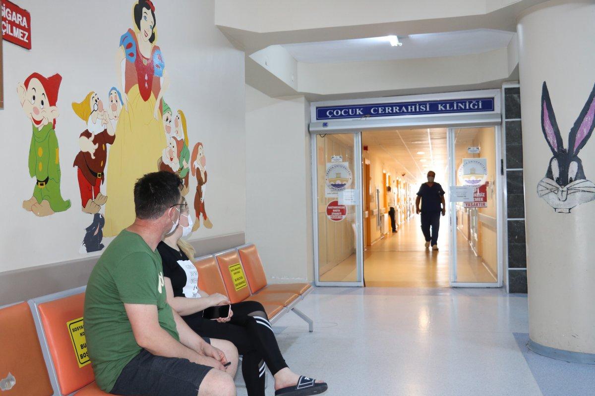 Edirne de, hastane odasında LGS ye girdi #4