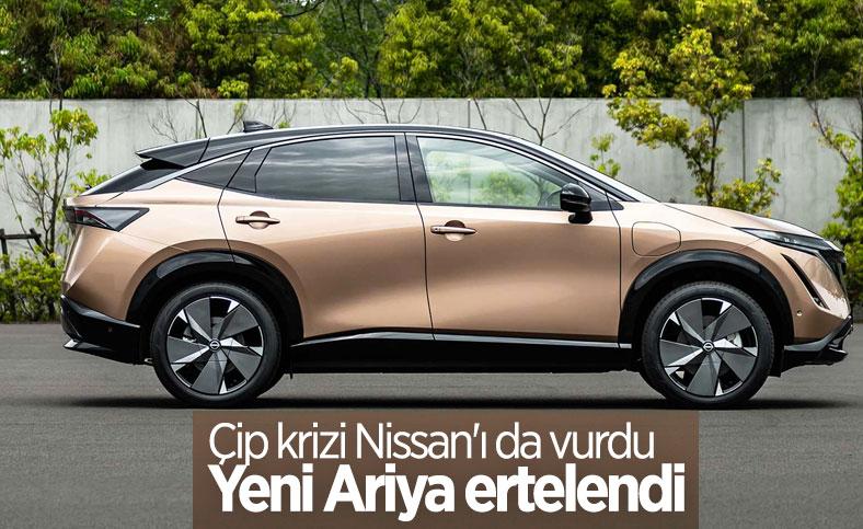 Çip krizi nedeniyle yeni Nissan Ariya ertelendi