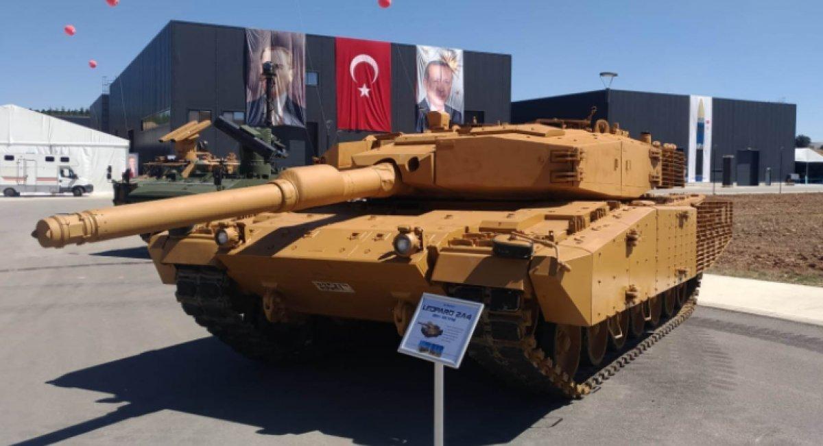 Leopard 2A4 tanklarının zırh paketinin seri üretimine geçildi #4