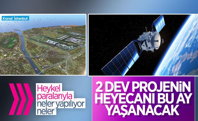 Türkiye, Türksat 5A ve Kanal İstanbul projelerine odaklandı